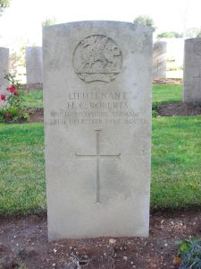 קברו של הארי רוברטס בירושלים